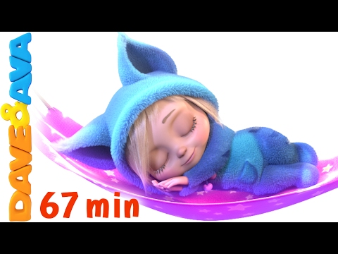 💤 English Rhymes | Rock a Bye Baby | YouTube Nursery Rhymes and Baby Songs from Dave and Ava 💤