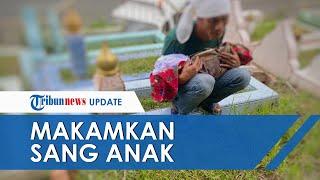 Viral Pria Luntang-lantung di Kuburan Gendong Jenazah Bayi, Diduga Ditolak karena Tak Punya Uang