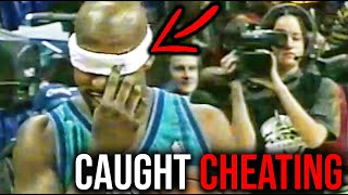 6 NBA Players Who Got Caught CHEATING on Live Television!