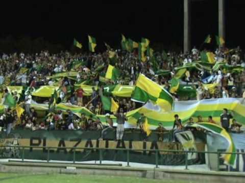 """""""Aldosivi 1 Platense 0 - 28-2-2009 - Nueva Cancion"""" Barra: La Pesada del Puerto • Club: Aldosivi"""