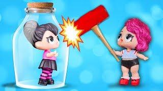 КАК ЕЕ ОТКРЫТЬ? Куклы Лол на Пляже Мультик про Lol Surprise Игрушки для Девочек