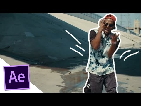 Hand Drawing Music Video Effect – After Effects Tutorial