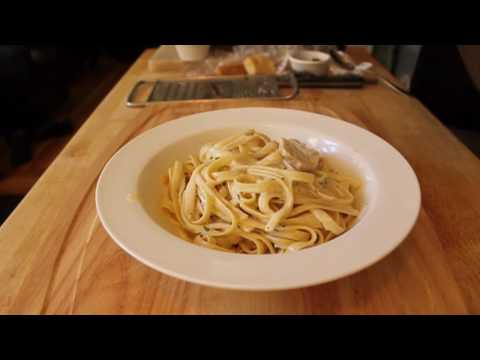 Food Wishes Recipes - Chicken Fettuccine Alfredo Recipe - How to Make Chicken Fettuccine Alfredo