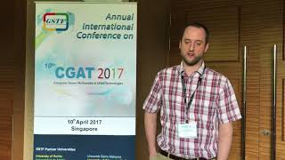 Stephen Dowsland at CGAT Conference 2017 by GSTF Singapore