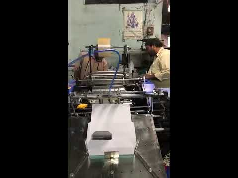 Envelope Window Pasting Machine