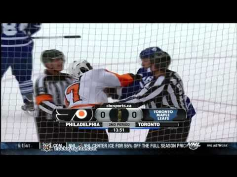 Joey Crabb vs. Wayne Simmonds