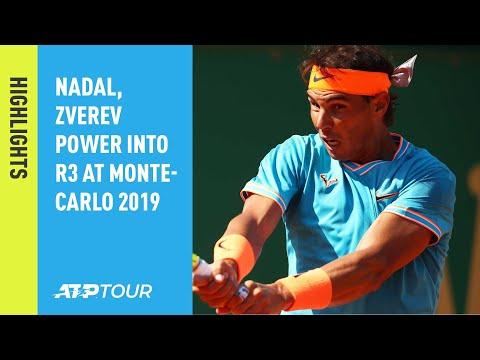 8a51e29f Highlights: Nadal, Zverev Power Into R3 At Monte-Carlo 2019