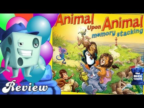 Animal Upon Animal: Memory Stacking Review - with Tom Vasel