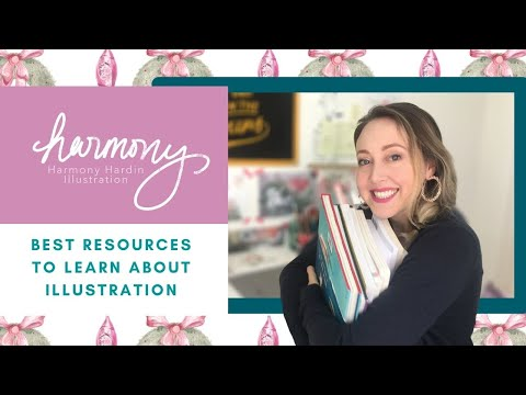 HOW TO GET STARTED IN ILLUSTRATION | My favorite online classes & books | Resources to learn | Pt 1