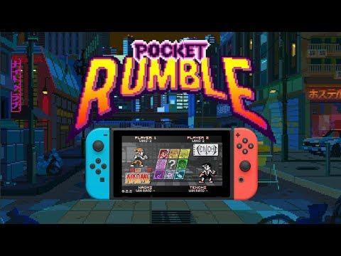 Pocket Rumble - Nintendo Switch Launch Trailer thumbnail
