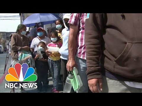 Guatemala Dispatch: Migrants Fleeing Lack Of Infrastructure, Absence Of Government | NBC News NOW