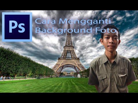 Video Tutorial Mengganti Background Foto - Photoshop CC