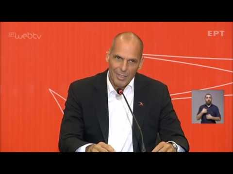 Η συνέντευξη του Γιάνη Βαρουφάκη στην 84η Διεθνή Έκθεση Θεσσαλονίκης   13/09/2019   ΕΡΤ