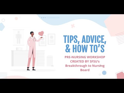 Tips, Advice, and How-Tos: Nursing Student Perspective