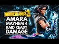 BORDERLANDS 3 Best Builds | AMARA Mayhem 4 Raid Ready Damage Build