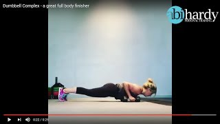 Dumbbell Complex - A Great Full Body Finisher