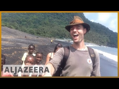🇩🇰 Man on mission to travel to every country without planes   Al Jazeera English