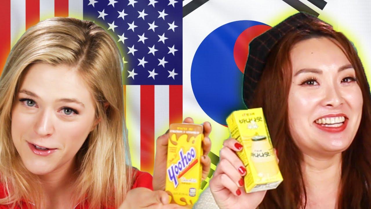 Americans & Koreans Swap Drinks thumbnail