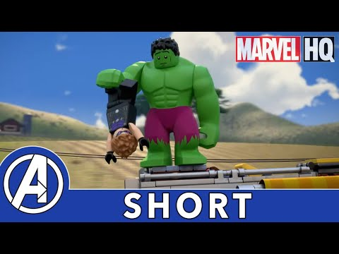 Vacationers Assemble | LEGO Marvel Avengers: Climate Conundrum | Red Skull Rising Part 2