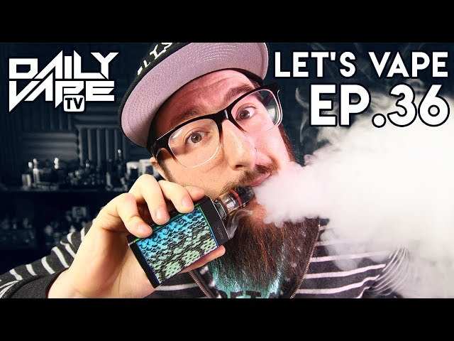 Let's Vape! Ep. 36 - Metals In Ecigs Study ~ New Merch ~ More Rare Beer!