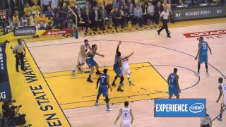 Stephen Curry's Sick 3 Pointer in 360 CAMERA | Thunder r vs Warriors | NBA PLAYOFFS | 5.26.16