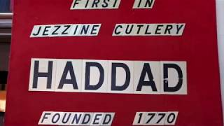preview picture of video 'Haddad: The Famous Cutlery from Jezzine'