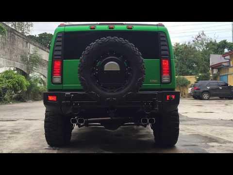 Hummer H2 exhaust system – DRIFT XAUST