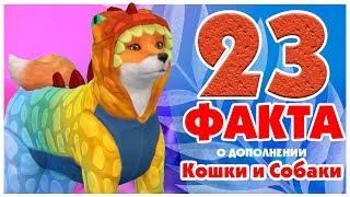 23 ФАКТА О THE SIMS 4 КОШКИ И СОБАКИ!