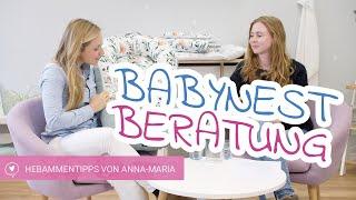 Das Babynest | Die Erleichterung für den Alltag | Hebammeninterview mit Anna-Maria | babyartikel.de