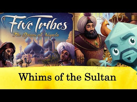 Five Tribes: Whims of the Sultan Review - with Zee Garcia