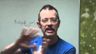 Daily Easy English Expression - Lesson: Knock on wood.