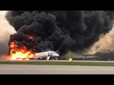 Στους 41 οι νεκροί από τη φωτιά στο αεροπλάνο