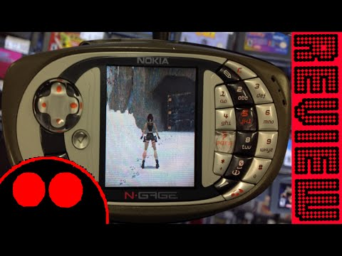 Tomb Raider on N-Gage review - The Scared Peasant