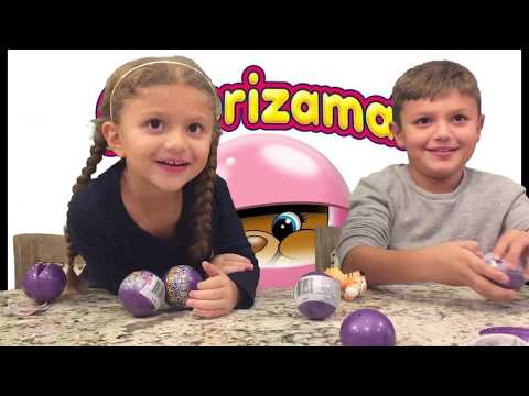 PLUSH TOY Review! Gav and Gia love Surprises, have fun opening SURPRIZAMALS! SERIES 5! So Cute!