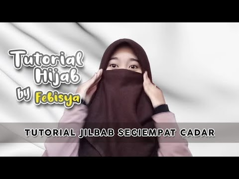 Mari Berhijab Tutorial Hijab Pashmina Cadar