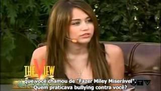 "Miley Cyrus fala sobre ""Miles To Go"" (Legendado) 2009 parte 1"