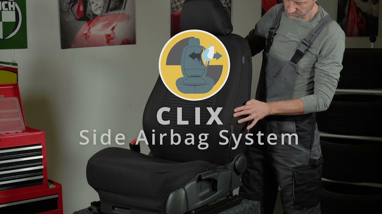 Anteprima: Coprisedili Robusto per Ford Fiesta VI (CB1, CCN) 06/2008 - Oggi, 2 Coprisedili per sedili normali
