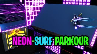 Thumbnail for NEON-SURF Parkour Course