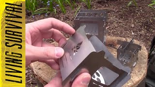 Bushcraft Essentials Stoves Side-by-Side