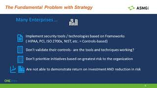 Decrease Cost and Increase Security Posture with Managed Security – presented by ASMGi