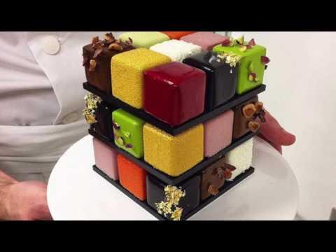 Идея торта кубик-рубик