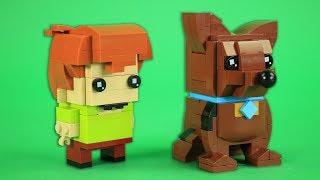 How To Build LEGO Scooby Doo and Shaggy   BrickHeadz