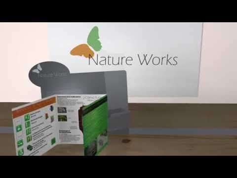 Vidrio filtracion - Video expositor folletos-  Nature Works