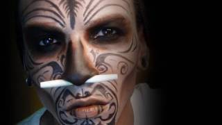 Witch Doctor Makeup Tutorial