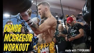 SEE CONOR MCGREGOR DISPLAY HIS BOXING SKILLS AND ENDURANCE DURING LAS VEGAS WORKOUT