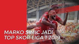Marko Simic Pastikan Diri sebagai Pencetak Gol Terbanyak di Liga 1 2019