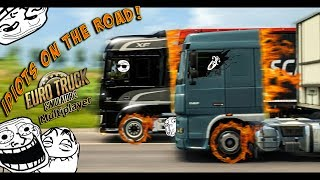Euro Truck Simulator 2 Multiplayer   Funny Moments & Crash Compilation   #35 (ETS2MP)