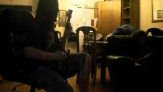 Suspended by the throat - Job for a cowboy Guitar/ Vocal cover.