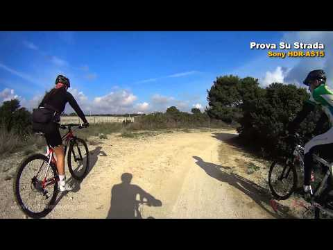Action Cam Sony HDR-AS15 - Mountain Bike