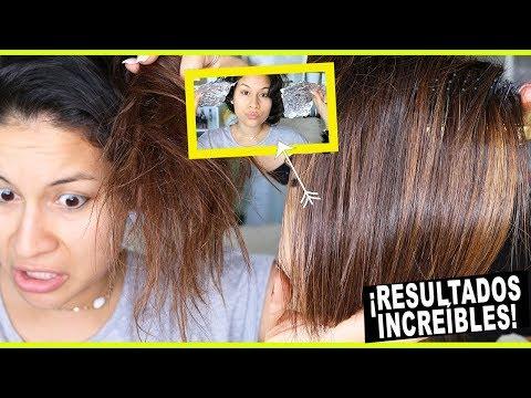 mascarillas caseras para cabello seco y con frizz